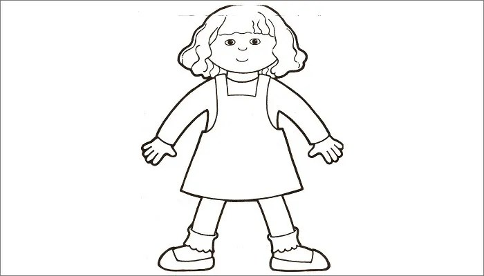 Printable Flat Stanley Template - Costumepartyrun