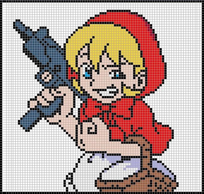 pixel art template - Ozilalmanoof