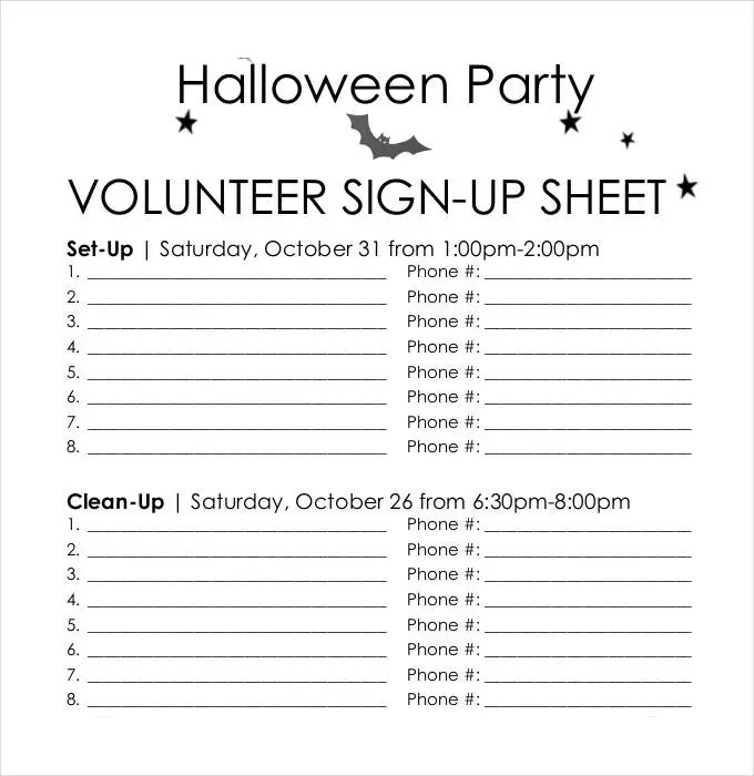 Committee Sign Up Sheet Template - Unitedijawstates - committee sign up sheet template