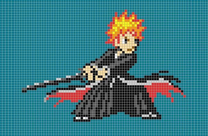 30+ Pixel Art Templates Free  Premium Templates - minecraft pixel art template