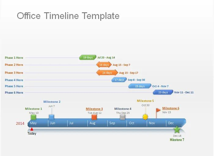 microsoft timeline template powerpoint