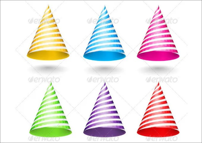 Party Hats, Party Hat Template Free  Premium Templates