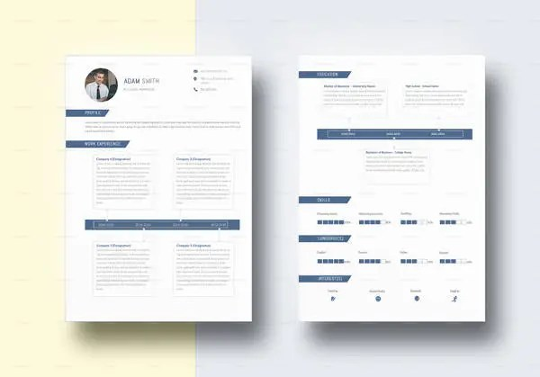 Accounting Resume Templates - 20+ Free Samples, Examples, Format - resume template for it professional