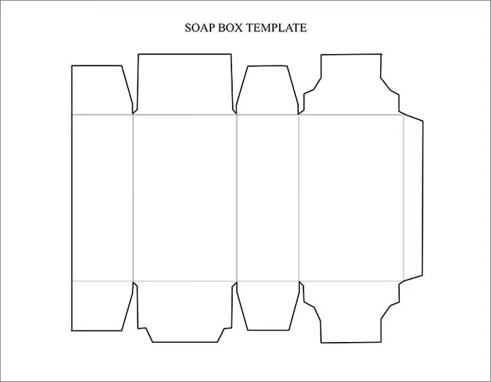 Box Template Free  Premium Templates