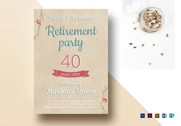 Printable Party Flyer Templates Free  Premium Templates
