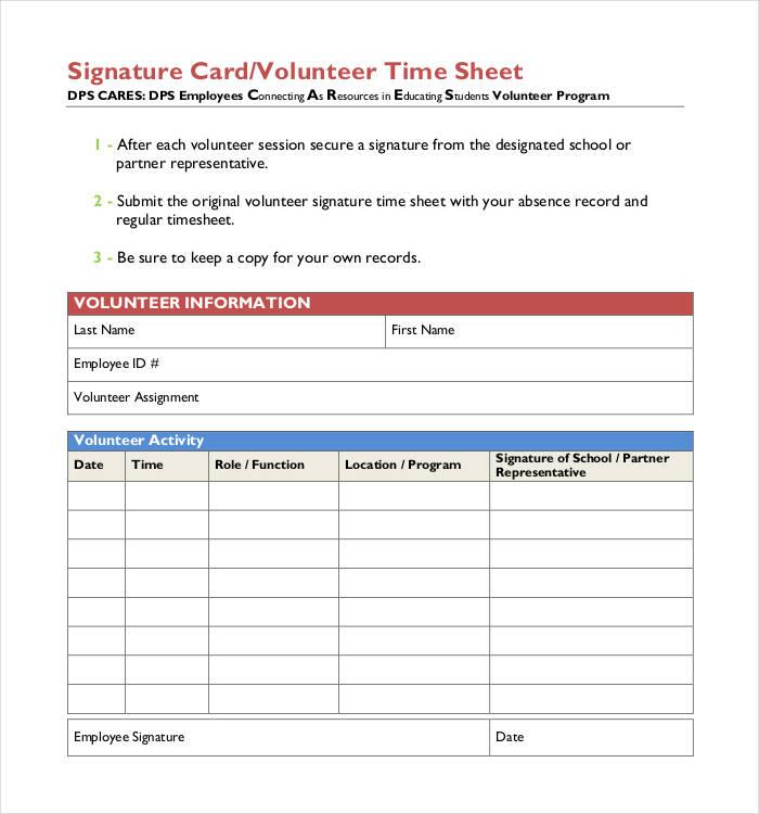 60+ Timesheet Templates - Free Sample, Example, Format Free