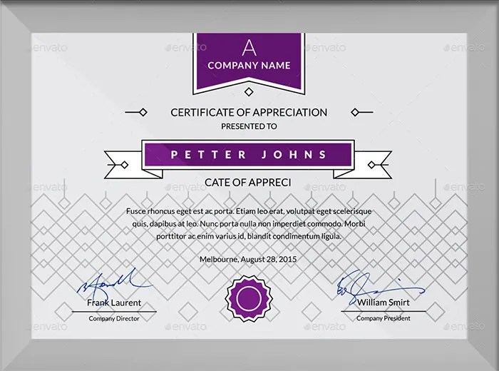 84+ PSD Certificate Templates - Free PSD Format Download Free