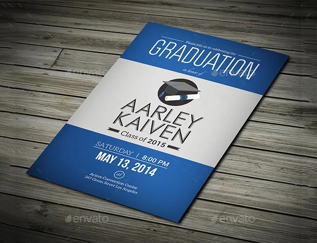 19+ Graduation Invitation Templates - Invitation Templates Free