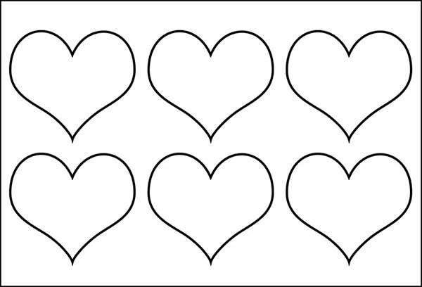 25+ Heart Template, Printable Heart Templates Free  Premium Templates
