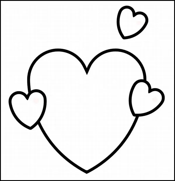 25+ Heart Template, Printable Heart Templates Free  Premium Templates
