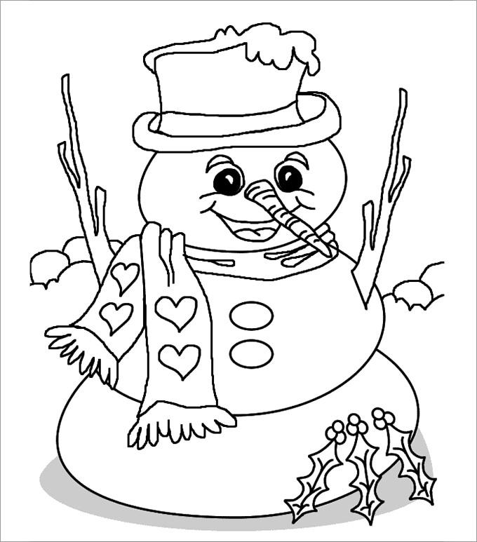 Snowman Template, Snowman Crafts Free  Premium Templates