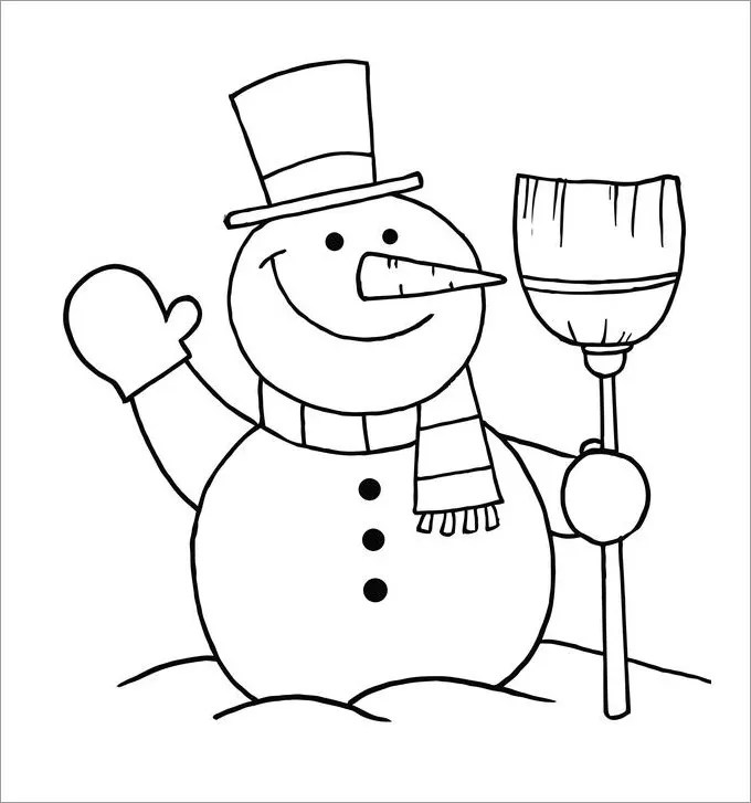 Snowman Template, Snowman Crafts Free \ Premium Templates - snowman template