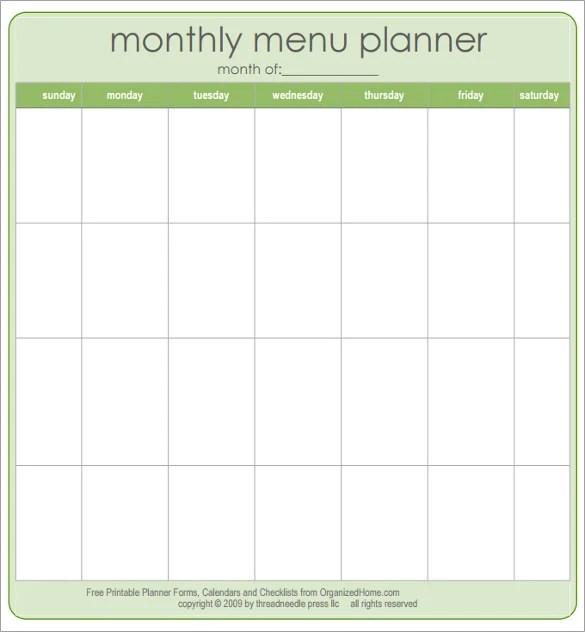 47+ Blank Menu Templates - PSD, EPS, PDF, Pages Free  Premium
