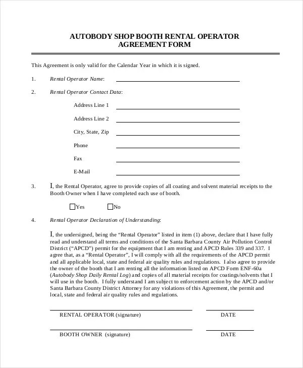 agreement form - Mersnproforum