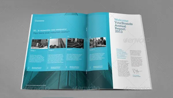 Annual Report Template - 39+ Free Word, Excel, PDF, PPT, PSD