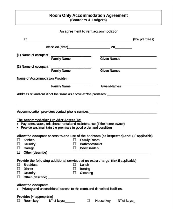Simple Rental Agreement - 34+ Examples in PDF, Word Free  Premium - simple rental agreements