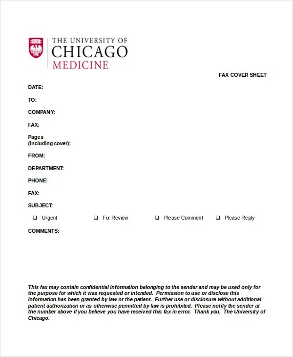 Fax Sheet Template - 3 Free Word Documents Download Free  Premium