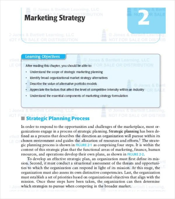 Marketing Strategy Template The Quickmba Has A Great Marketing - marketing plan pdf
