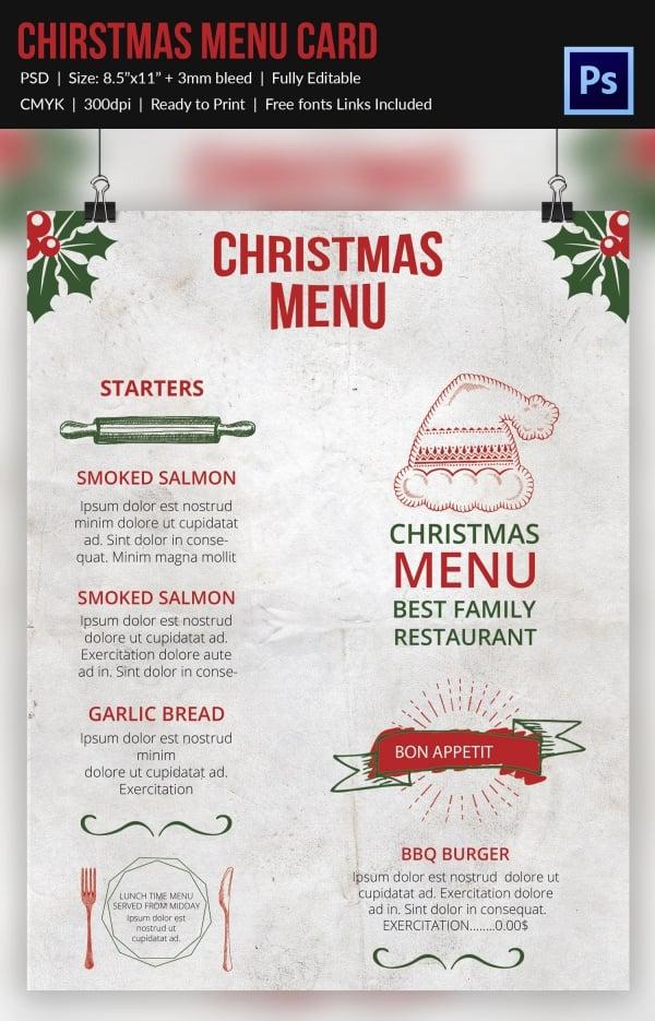 30+ Free Christmas Templates  Designs - PSD, Word Free  Premium - free christmas word templates