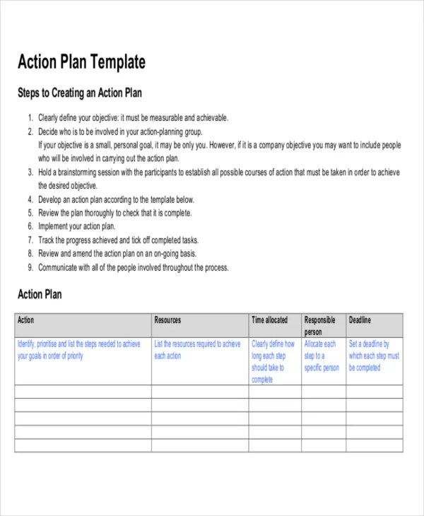 Strategic Life Plan Template - 5+ Free Word,PDF Documents Download - life plan template