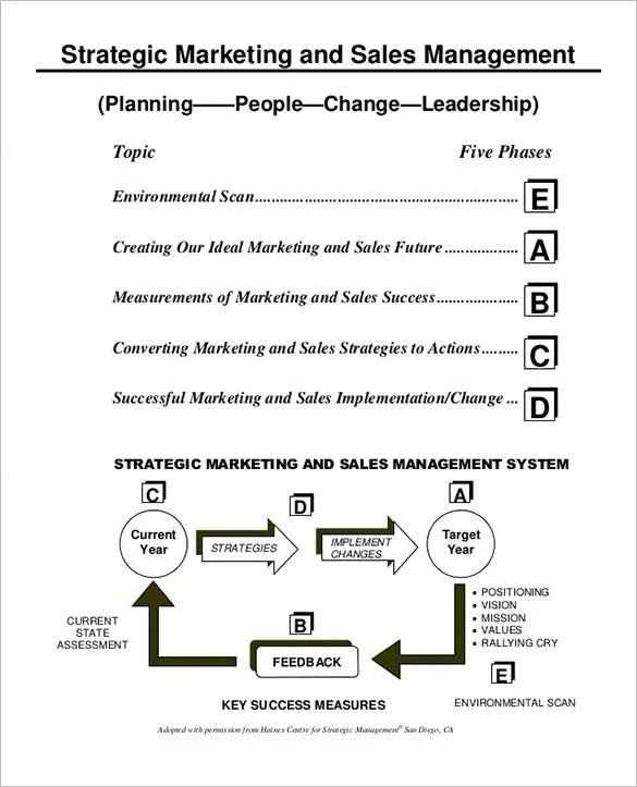 Sales Action Plan Template - 22+ Free Word, Excel, PDF Format - best sales plan