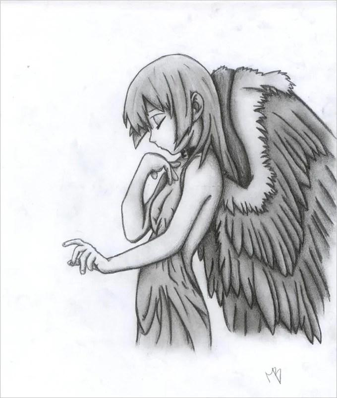 sketches of angels - Alannoscrapleftbehind - angels templates free