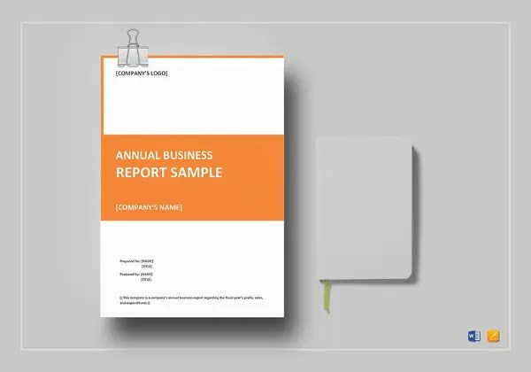 Annual Report Template - 40+ Free Word, PDF Documents Download - free report templates