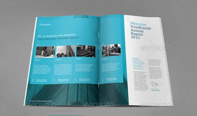 annual reports templates - Selol-ink