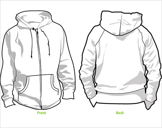 45+ Hoodie Templates - Free PSD, EPS, TIFF Format Download! Free