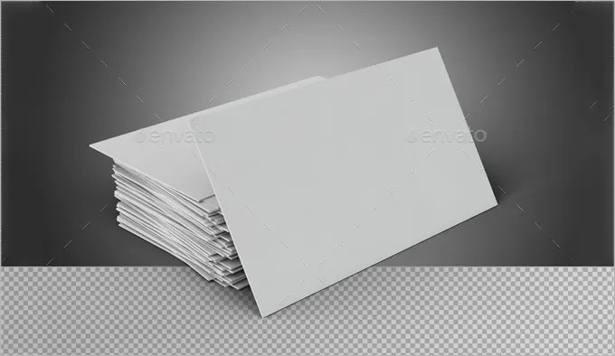 Blank Card Template 6+- Free PSD, EPS, Format Download! Free