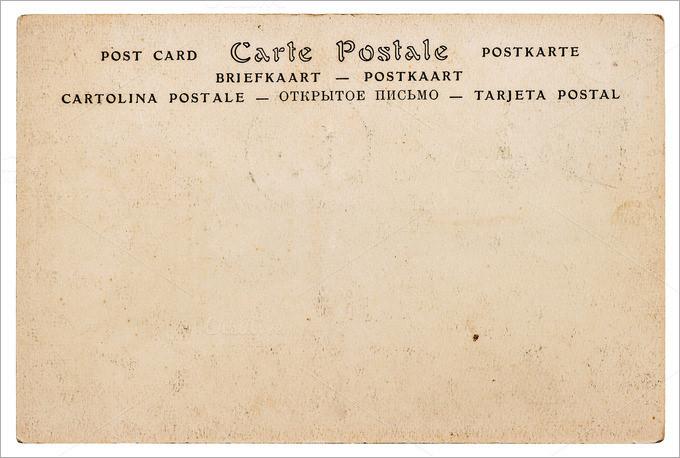 34+ Blank Postcard Templates - PSD, Vector EPS, AI Free  Premium