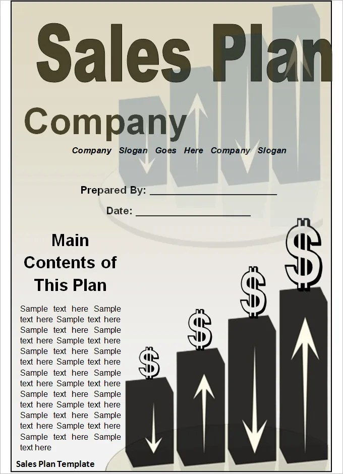 Strategic Sales Plan Templates - 5+ Free Sample, Example Format - how to write a sales plan template