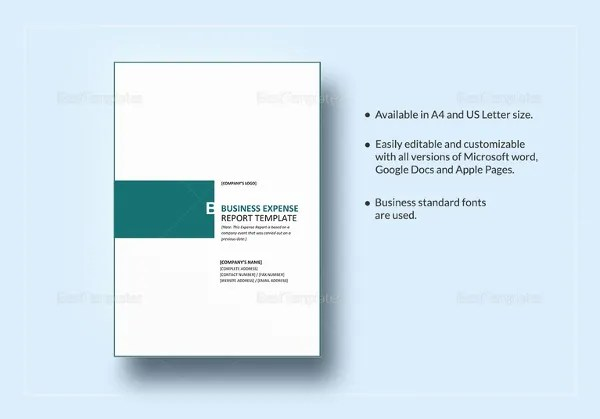 35+ Business Report Template - Free Sample, Example, Format Download - business report template word