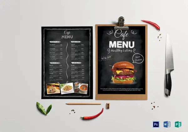29+ Cafe Menu Templates u2013 Free Sample, Example Format Download - sample drink menu template