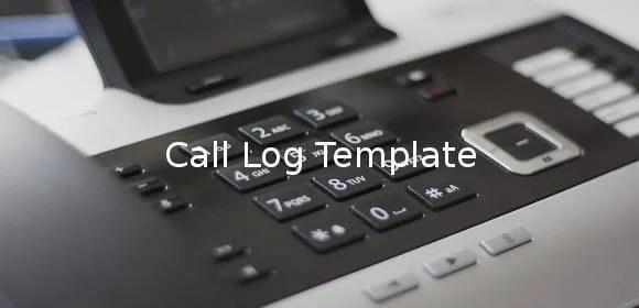 15+ Call Log Templates - DOC, PDF, Excel Free  Premium Templates