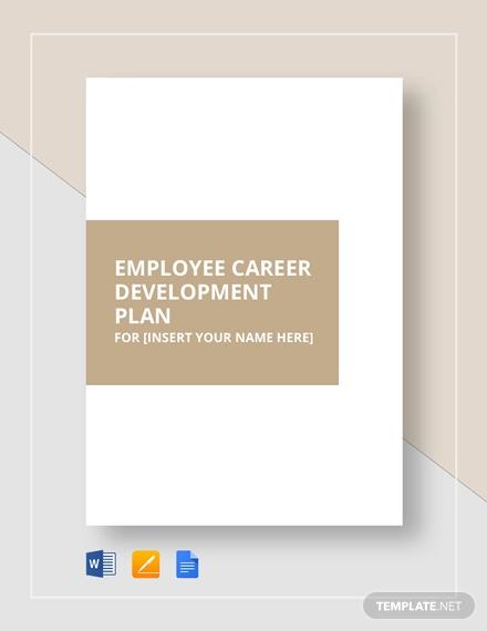 7+ Best Employee Development Plan Templates - Word, PDF Free
