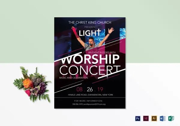 Concert Flyer Template - 32+ PSD Format Download Free  Premium