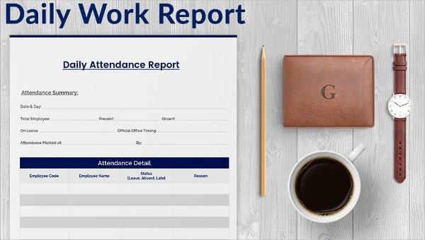 60+ Daily Report Templates - PDF, DOC, Excel Free  Premium Templates