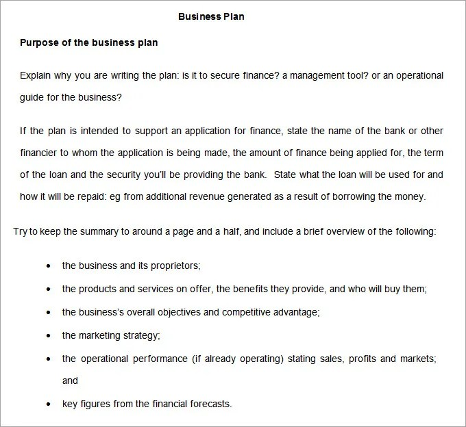 Business Development Plan - 13+ Free Word Documents Download Free - business development plan template