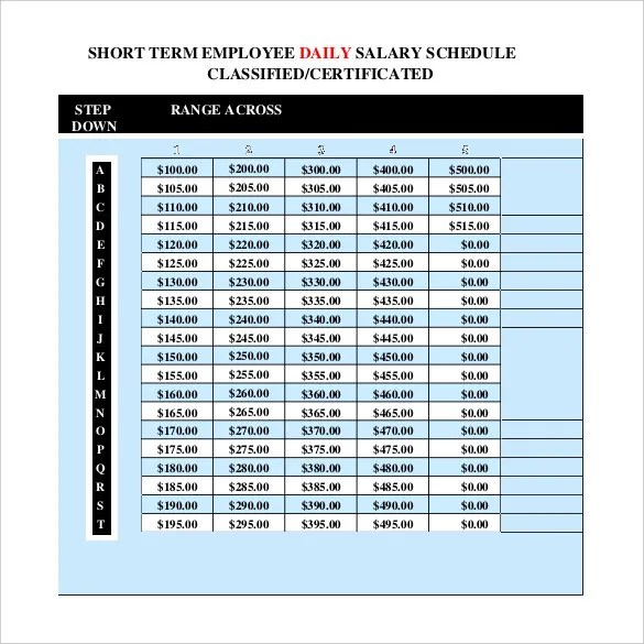 Daily Schedule Template 37 Free Word Excel Pdf
