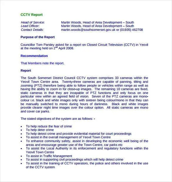 56+ Daily Report Templates - PDF, DOC, Excel Free  Premium Templates - how to write a daily report sample