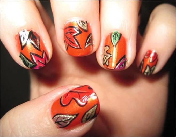27+ Fall Nail Art Designs Free  Premium Templates