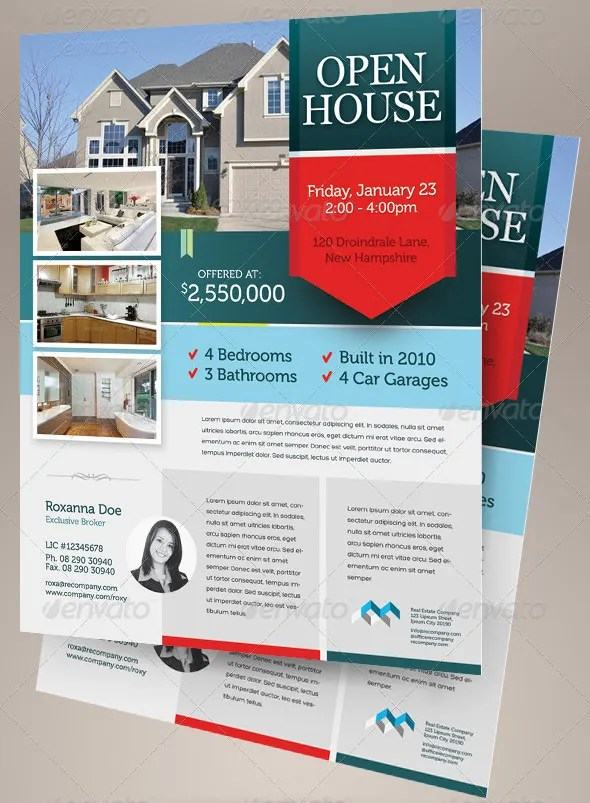 For Sale By Owner Free Flyer Template By Hloomcom Givens Rd 14 Free - Flyer Outline