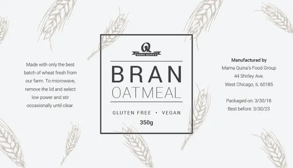 22+ Food Label Templates - Free PSD, EPS, AI, Illustrator Format