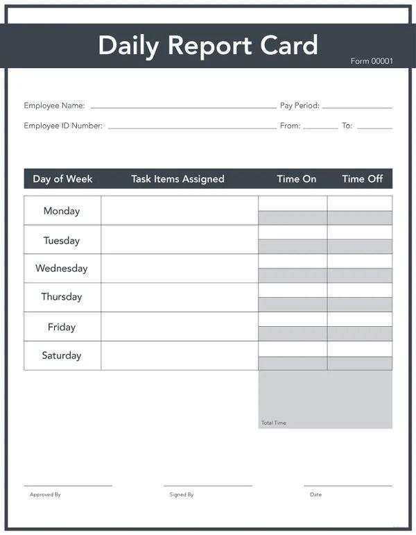 6+ Daily Sales Report Templates - PDF, PSD, AI Free  Premium