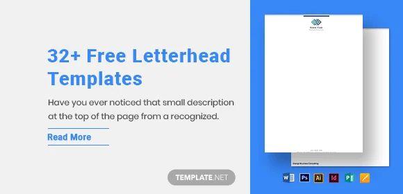 sample letterhead in word format