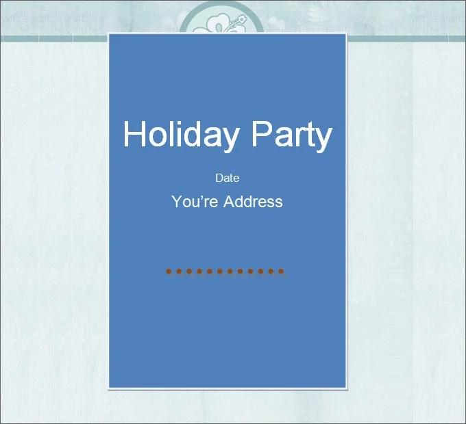 27+ Best Blank Invitation Templates - PSD, AI Free  Premium Templates - free holiday party invitation template