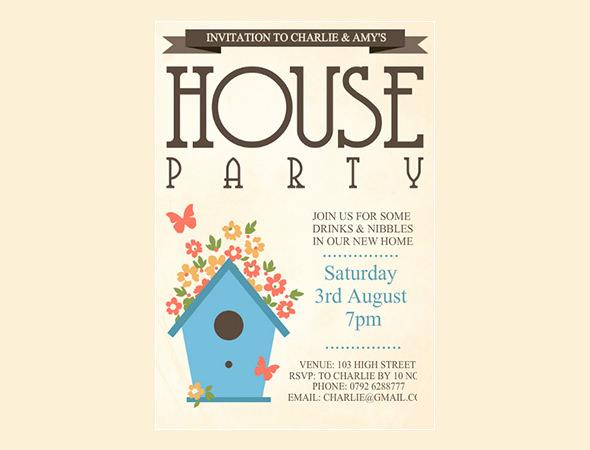 Housewarming Invitation Template - 31+ Free PSD, Vector EPS, AI - housewarming invitation template