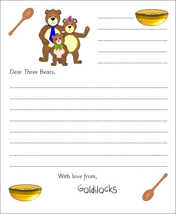 10+ Letter Templates for Kids - Free Sample, Example, Format Free