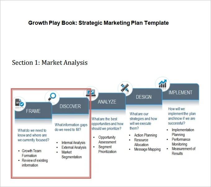 Strategic Marketing Plan Template - 10+ Free Word, PDF Documents